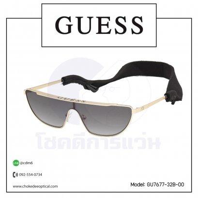 แว่นกันแดด Guess GU7677-32B-00