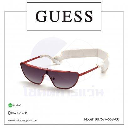 แว่นกันแดด Guess GU7677-66B-00