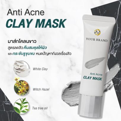 Anti-Acne Clay Mask