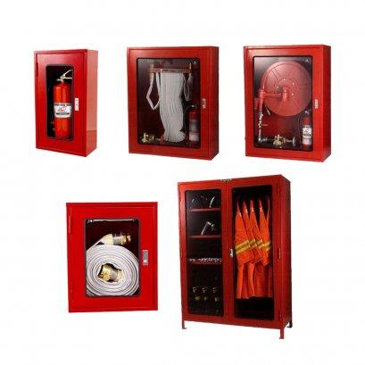 ตู้เก็บสายและอุปกรณ์ดับเพลิง