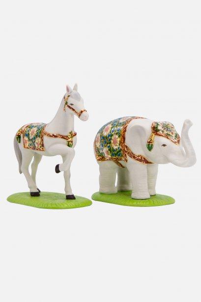 ช้าง-ม้า (กลาง)