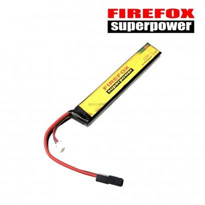 FireFox 11.1V 1250 mAh 15C Li-po ใส่แกนพานท้าย