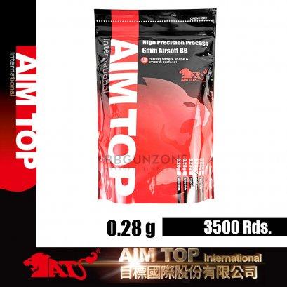 ลูกกระสุน AIMTOP 0.28g  2800 นัด made im taiwan
