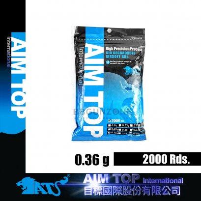 ลูกกระสุน AIMTOP 0.36g  2000 นัด made im taiwan