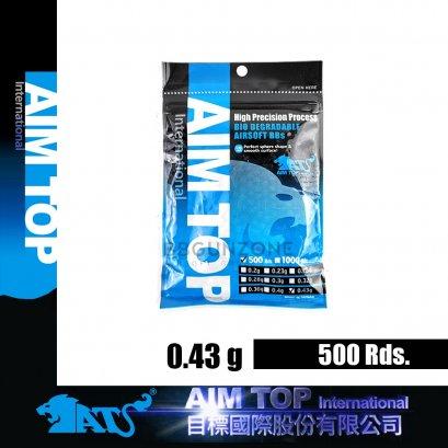 ลูกกระสุน AIMTOP 0.43g  500 นัด made im taiwan