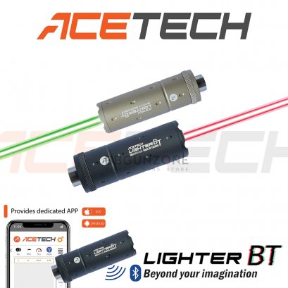 Acetech Lighter BT tracer unit วัดความเร็วลูก ผ่าน smartphone ได้