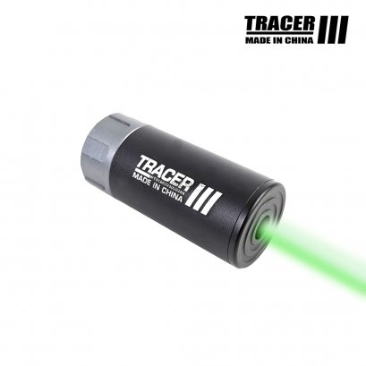 "WoSport Flash Tracer III Silencer 14mm (3.5"" - Black)"
