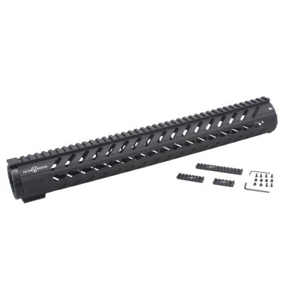 "Vector Optics 16.5"" Ultra Light KeyMod Free Float Handguard Rail Mount Polymer"