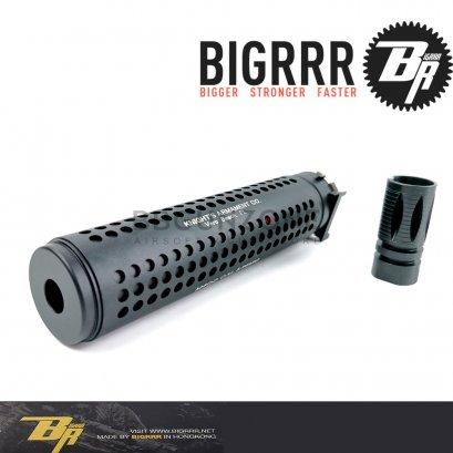"Bigrrr Kac Style QD ท่อเก็บเสียง ยาว 7"" 2in1"