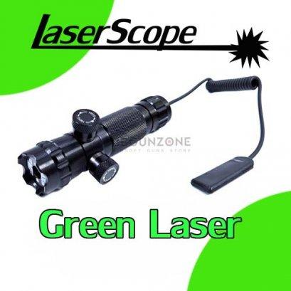Laser เขียว LASERSCOPE ปรับนอก