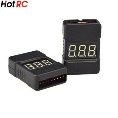 HotRC BX100  Alarm Battery Li-po 2-8S Buzzer