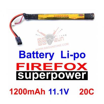 FireFox 11.1V 1200mAh 20C Li-po ยาว