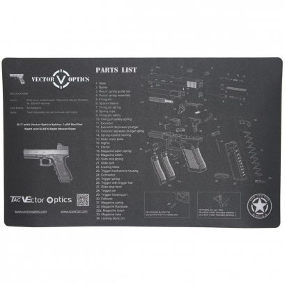 Vector Optics Glock Gun Cleaning Bench Mat