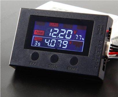 HotRC BX200 Alarm Battery Li-po 2-7S Buzzez