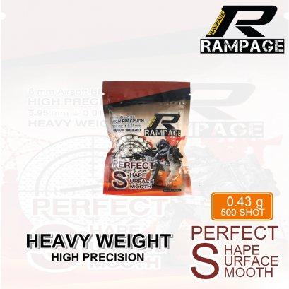 ลูกกระสุน RAMPAGE 0.43g  500 นัด made im taiwan