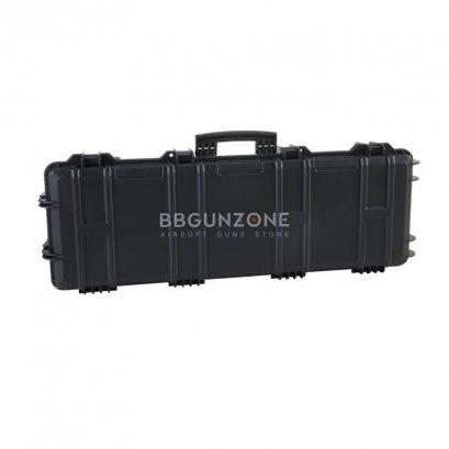 Hard Carry Gun Case กล่องปืนยาว 100 CM Waterproof มีล้อลาก กันน้ำ มีวาวล์
