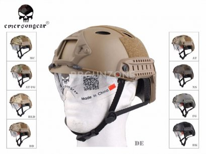 EmersonGear หมวก FAST Helmet Protective Goggle PJ Type EM8819