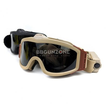 แว่นตากันกระสุน Power Fan Airsoft Goggles มีพัดลม