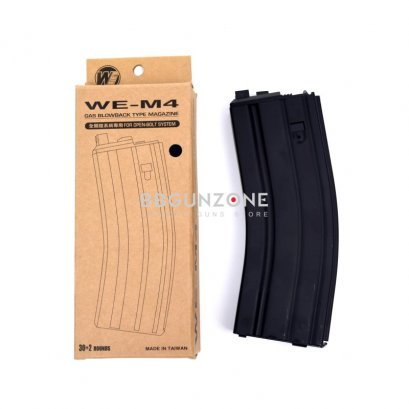 WE 30rd M4 Open Bolt Gas Blowback Rifle Magazine