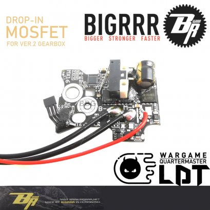 Bigrrr Drop-in MOSFET for v.2 Gearbox with Hall Sensor