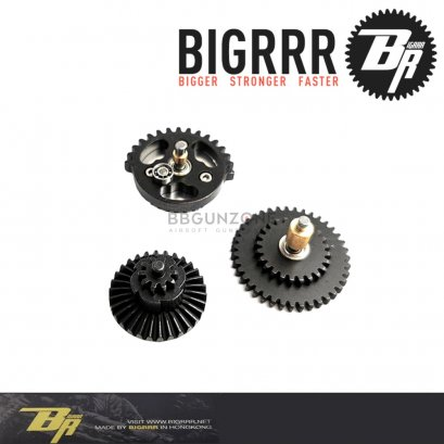Bigrrr เฟือง CNC Gear Set Integrated Bearings 13:1 แบริ่ง