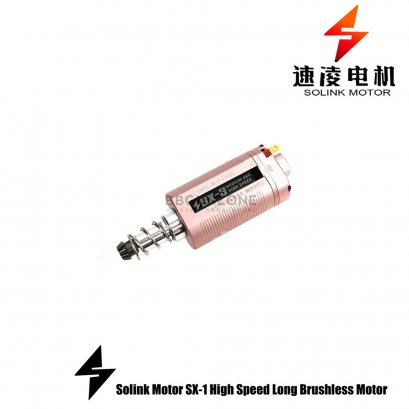 SOLINK SX-3 MEDIUM AND HIGH SPEED BRUSHLESS MOTOR