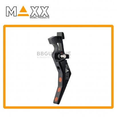 CNC Aluminum Advanced Trigger (Style B) BK