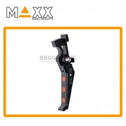 CNC Aluminum Advanced Trigger (Style E) (Black)