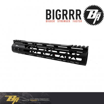 Bigrrr GT Style Rail System MLOK MOD 10 นิ้ว