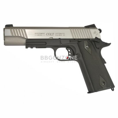 Cybergun Colt Rail Gun Bicolore Co2