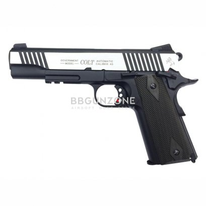 Cybergun Colt Rail Gun Dual Tone Co2