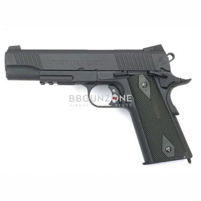 Cyber Colt Rail Gun Blackened Co2