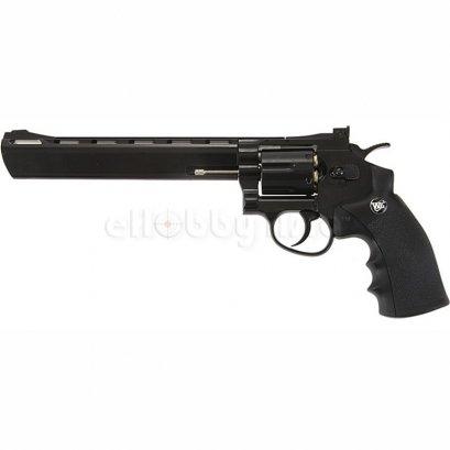 WinGun ปืนลูกโม่ .357 Magnum 8 นิ้ว Sport 703 Co2 Revolver Pure black