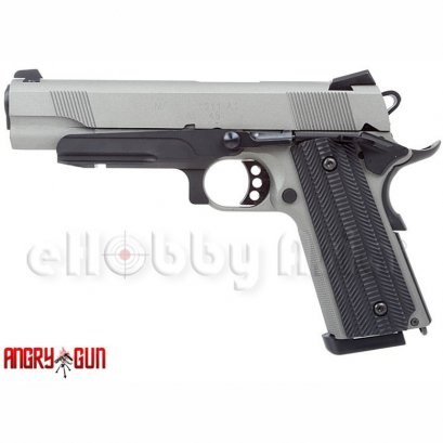Angry Gun (Unicorn) 1911 Custom (Deluxe, Stainless Steel Silver)