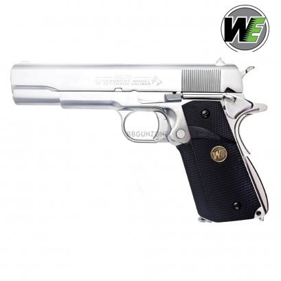 WE 1911 Matte Chrome MEU Grip (SV)