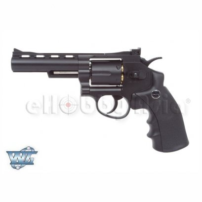 WinGun ปืนลูกโม่ .357 Magnum 4 นิ้ว Sport 701 Co2 Revolver Pure Black
