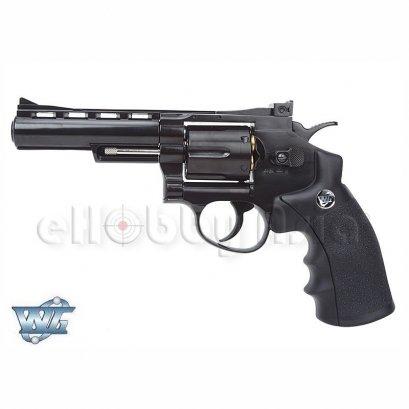 WinGun ปืนลูกโม่ .357 Magnum 4 นิ้ว Sport 701 Co2 Revolver Anodize Black