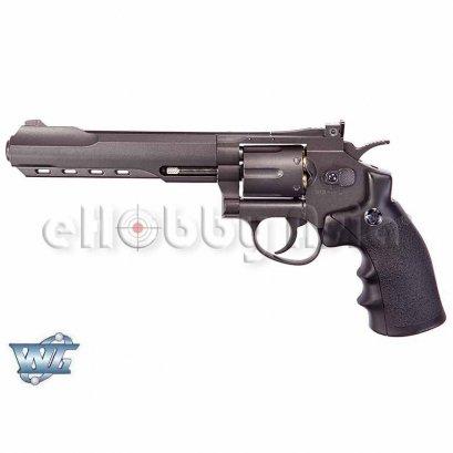 WinGun ปืนลูกโม่ .357 Magnum 6 นิ้ว Sport 702 Co2 Revolver BK