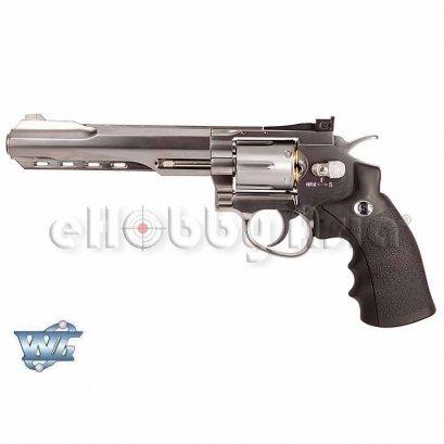WinGun ปืนลูกโม่ .357 Magnum 6 นิ้ว Sport 702 Co2 Revolver SV