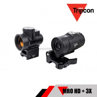 Trijicon MRO® HD 1x25 Red Dot Sight +  3x Magnifier (Toy Ver.)