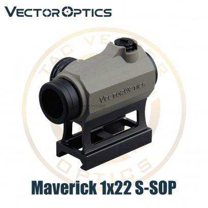 Vector Optics Maverick 1x22 S-SOP