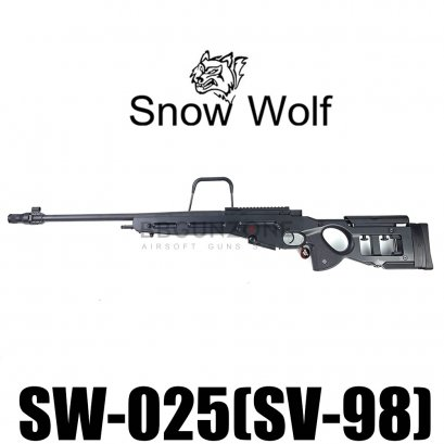 Snow wolf SV-98 SW-025 สีดำ