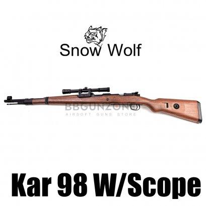 Snow wolf SW-022 Kar-98 w/scope