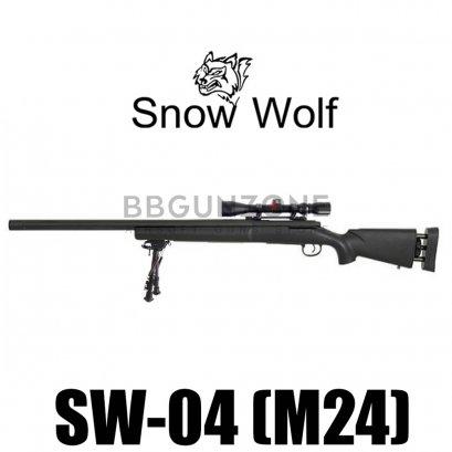 Snow wolf M24 SW-04JB ลำกล้องนอกเซาะร่องตรง