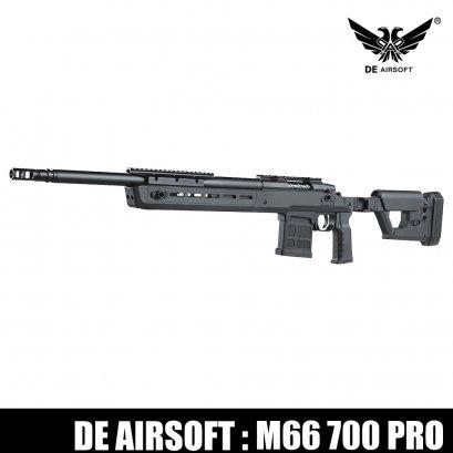 D.E. M66 Bolt Action 700 Pro BK