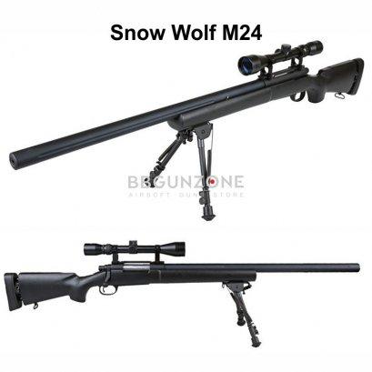 Snow wolf M24 กล้อง+ขาทราย อัพเกรด
