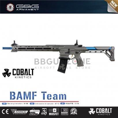 G&G Cobalt Kinetics Licensed BAMF TEAM AR15