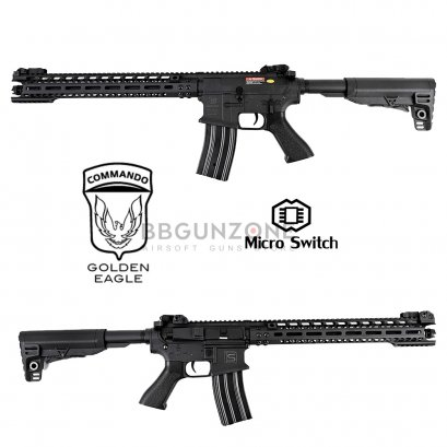 """Golden Eagle M4 Sai MOTs 16"""" E6599 Polymer Body (Micro Swicth)"""