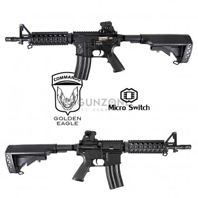 Golden Eagle M4 CQB-R E6624 ABS Body (Micro Swicth)
