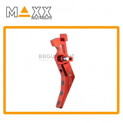 CNC Aluminum Advanced Trigger (Style B) RED